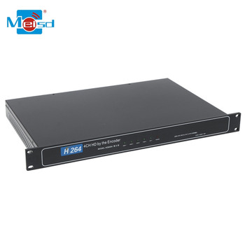 2018 New Product Video Encoder 4 Channel Video HD MI IP Video Encoder for IPTV Streaming Encoder