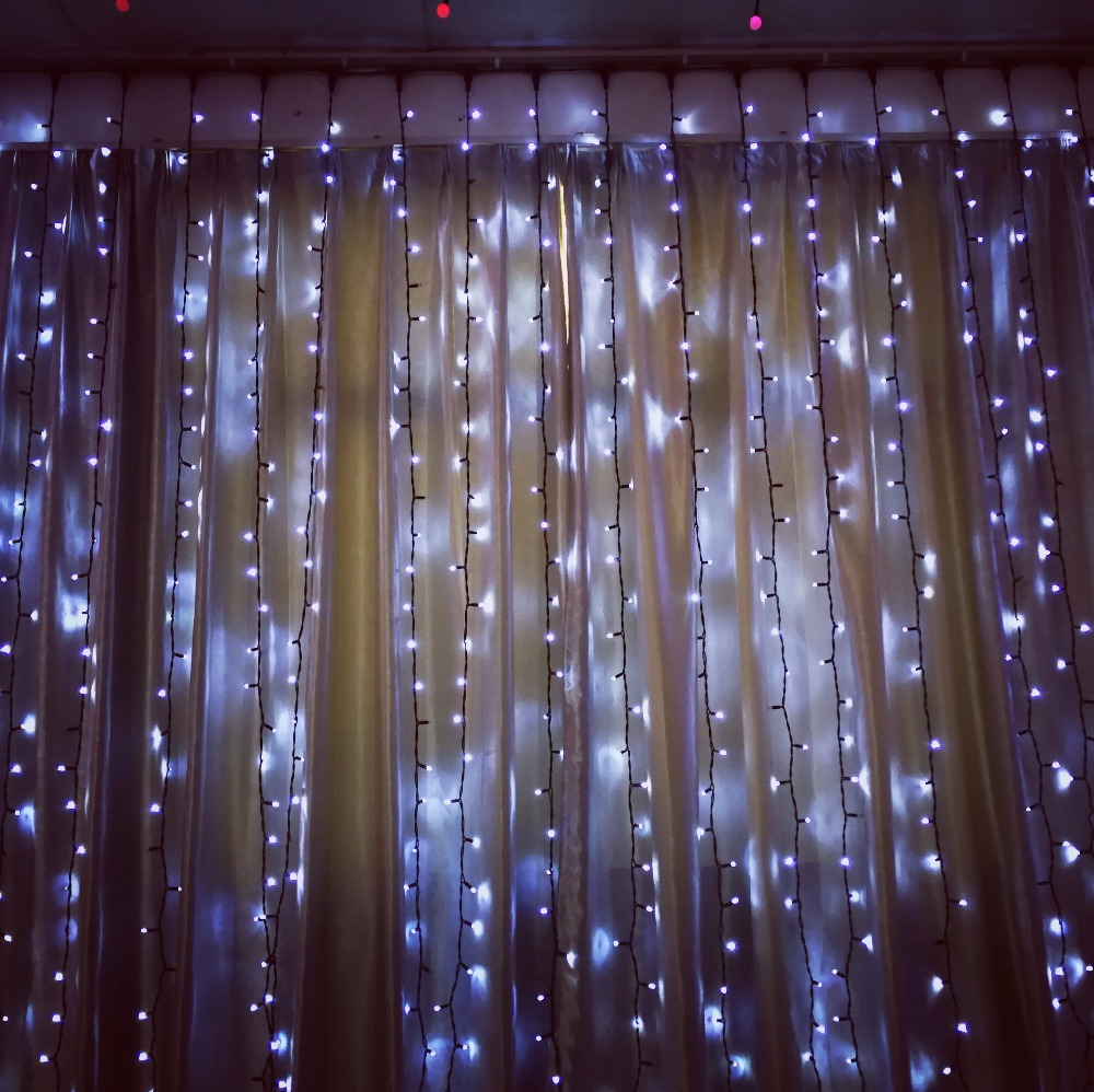 Christmas wedding decoration fairy light curtain of holiday lighting