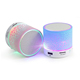 2017 LED Portable Mini Speakers Wireless Speaker With TF USB FM Radio