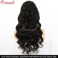 360 Full Lace Human Hair Wigs Loose Wave Curly Lace Front Human Hair Wigs With Baby Hair Premiter For Black Women