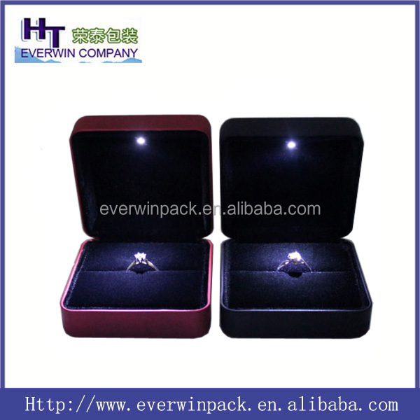 hot sale LED ring box with a good price