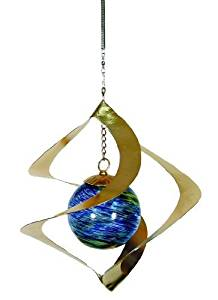 Echo Valley 4247W Illuminarie Hanging Spiral Spinner, 9 by 9 by 10-Inch by Echo Valley