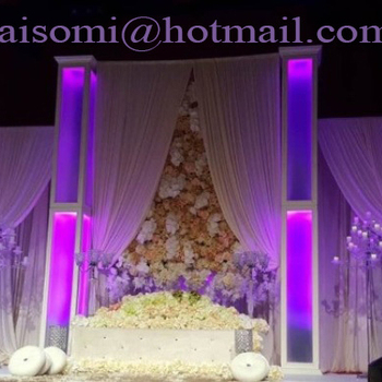Wedding Stage Pipe Drape And Background Buy Wedding Pipe And Drapedrapes For Weddingsstage Background Design Product On Alibabacom