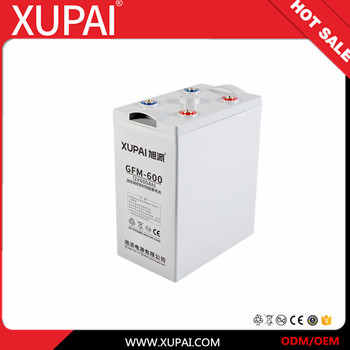 2V 600ah Back-Up Source AGM VRLA Battery GFM-600