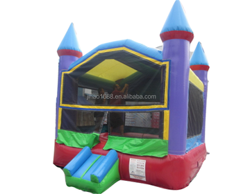 Inflatable bouncer castle with slide inflatable jumping house for kids and adults