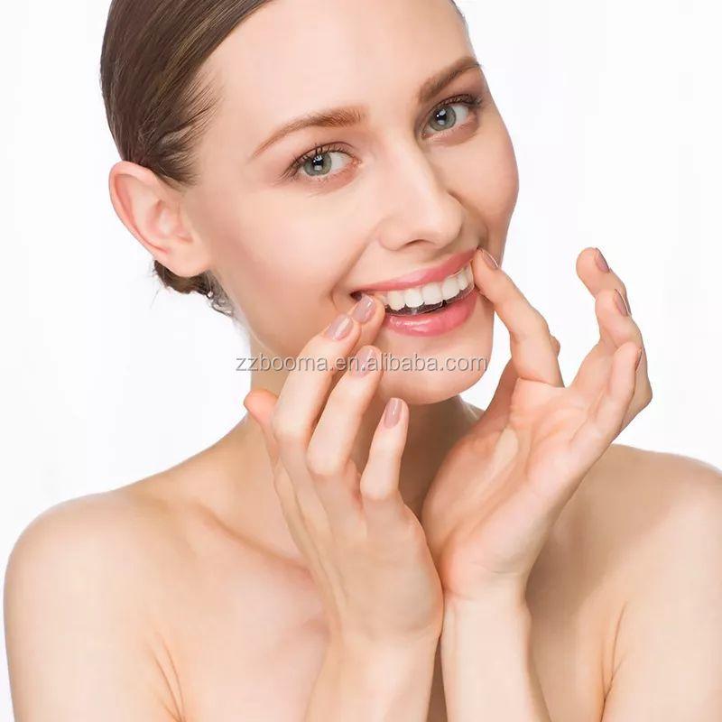 2019 Nieuwe Formule 100% 3D Natuurlijke Geavanceerde Non peroxide Tooth Houtskool Tanden Whitening Strips