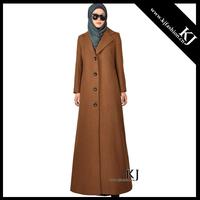 20151103 fashion winter muslim full length down islamic women coat