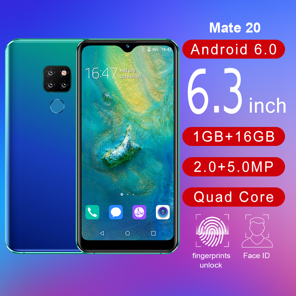 2019 free sample mobile phone Free Shipping Android 7.0 P30 pro MTK6580 3G smartphone Mobile Phones