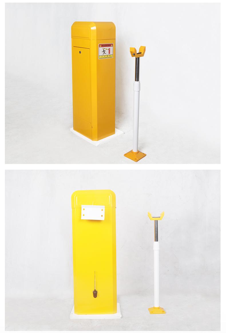 Alta barreira portão automático inteligente LPR