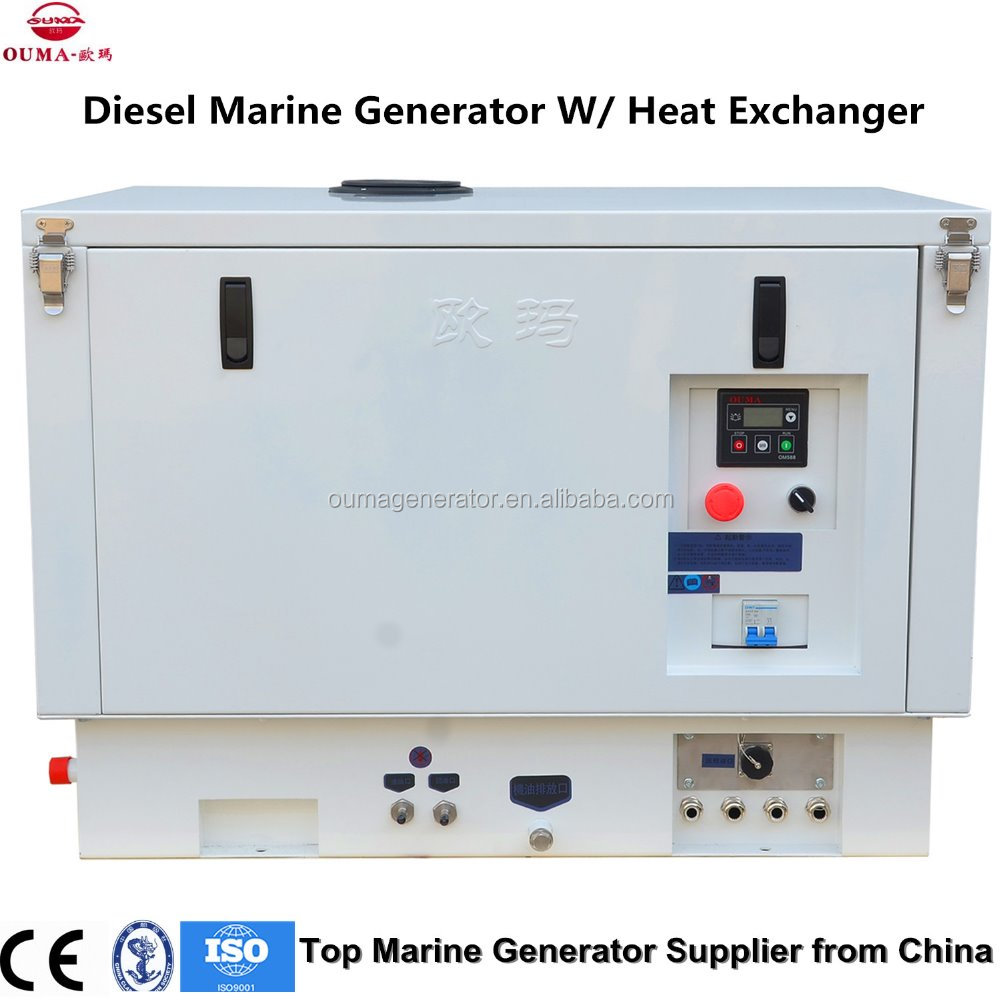 10kw Remote Start Marine Diesel Generators Quiet