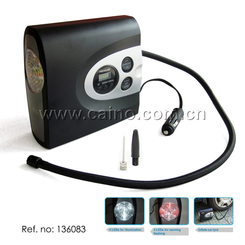 Multi-function Car Air Compressor Digital Tire Inflator