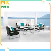 Outdoor Furniture Rattan sofa Foshan garden wicker bathroom furniture