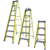 Wholesale high aluminum used step fiberglass step ladder