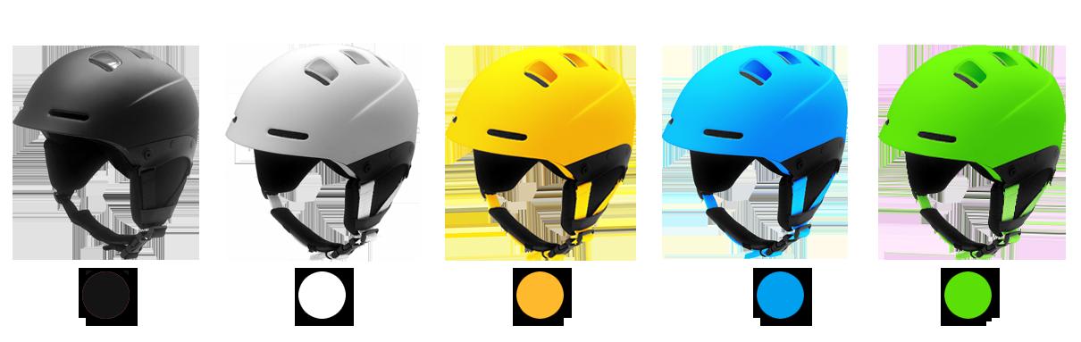 Unisex adult alpine skiing helmet 4