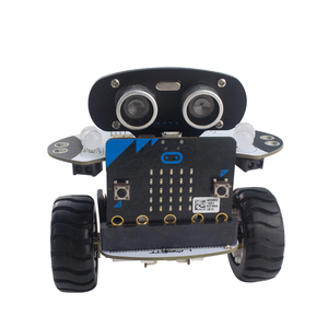 Microbit Robot Kit Programmable Robot RC Car APP Control Web Graphic Program W/ Microbit