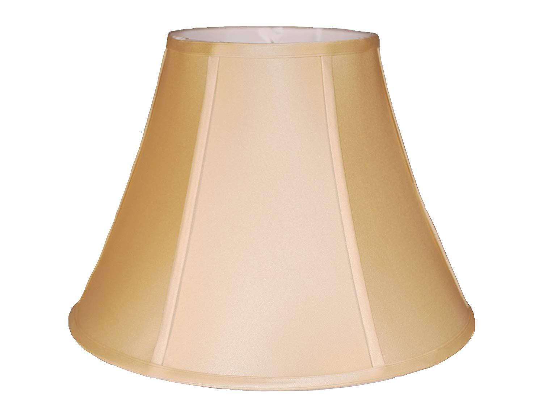 """16"""" Anna Beige Bell Silk lamp Shade"""