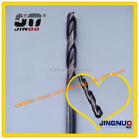 JINOO CNC Cutting Tools solid carbide straight shank stainless steel drill bits 3mm