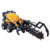 High quality loader attachment with trencher