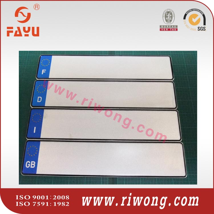 high quality low price aluminum license plate blank--China Factory directly