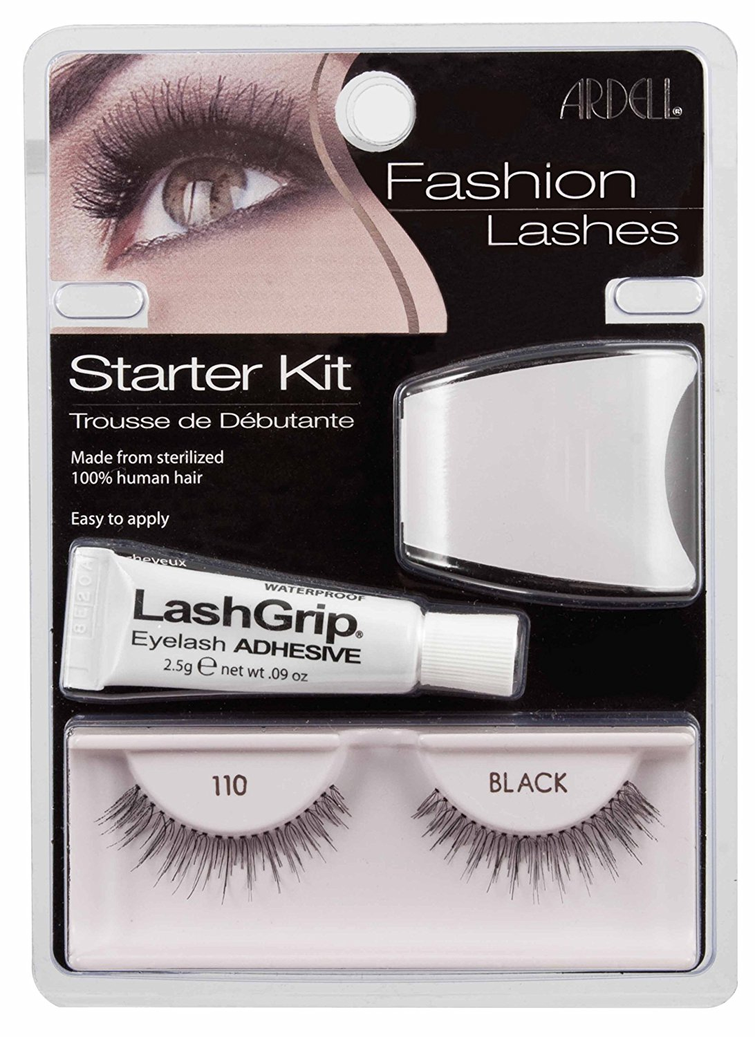 6fd96f5864e Buy Ardell Fashion Lashes False Eyelashes - #110 Black (Pack of 4 ...