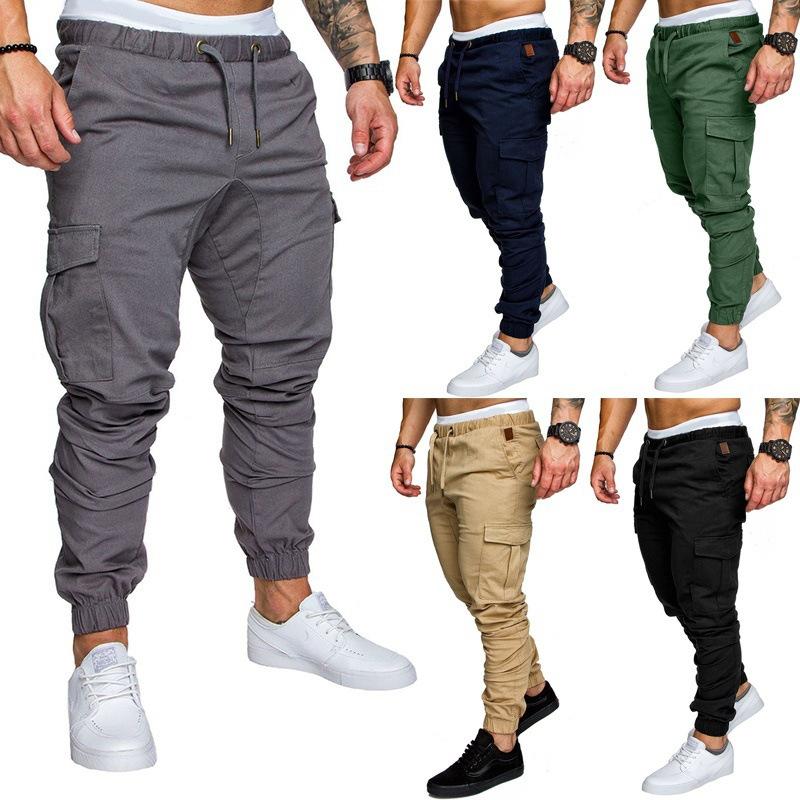 Tooling Multi Pocket Trousers Men Casual Track Pants Beam Pants Sweatpants Joggers For Men Buy Jogger For Men Tooling Pants Trousers Men Product On Alibaba Com