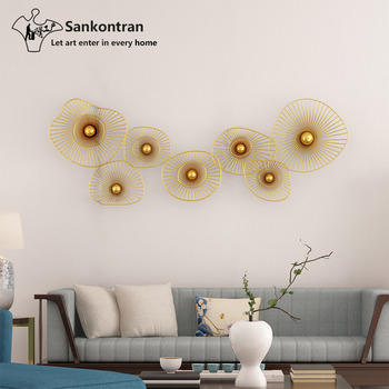 Handicraft Metal Wall Art Decoration Round Circle Set Stainless