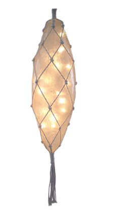 Hot sell fiberglass oval olive shape decoration led light lamp with outdoor led lighting