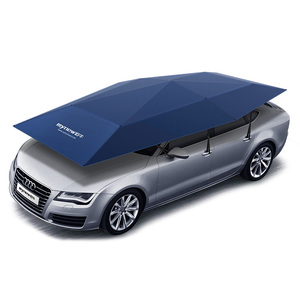 Innovative heat insulated function UV protection waterproof folding car cover