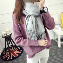 Sweater autumn and font b winter b font female loose pullover sweater basic shirt sweater outerwear