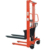 High quality man operating forklift manual stacker truck