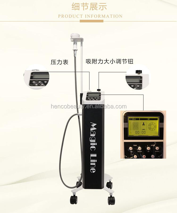 Vacuum therapy body building body slimming machine
