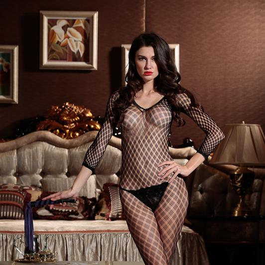 Womens Sexy Lingerie Strap Body Crotchless Bodystocking