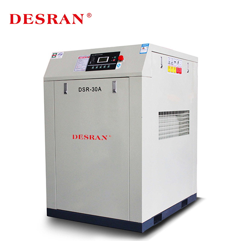 Desran Courroie 30HP/22kw compresseurs d'air à vis rotative DSR-30A