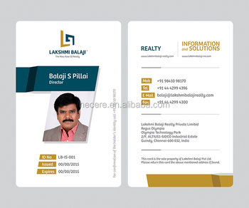 company employee identification card chinese id card pvc card buy