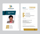 Company employee identification card, chinese id card, PVC Card