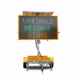 18A VMS Programmable LED Display Variable Message Sign Mobile Trailer For Sale