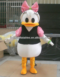 Girlfriend Duffy Duck mascot costume
