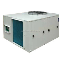 ceiling air conditioning 3 ton package unit with heat pump
