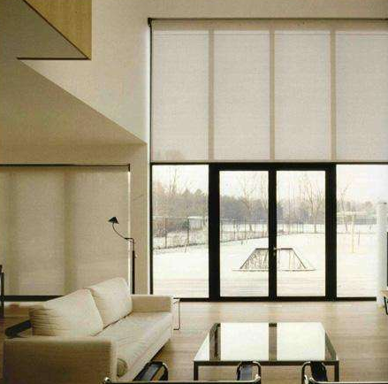 Sunscreen fabric roller blinds with good quality components