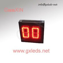 3inch 2digits red indoor alibaba express retro flip clock