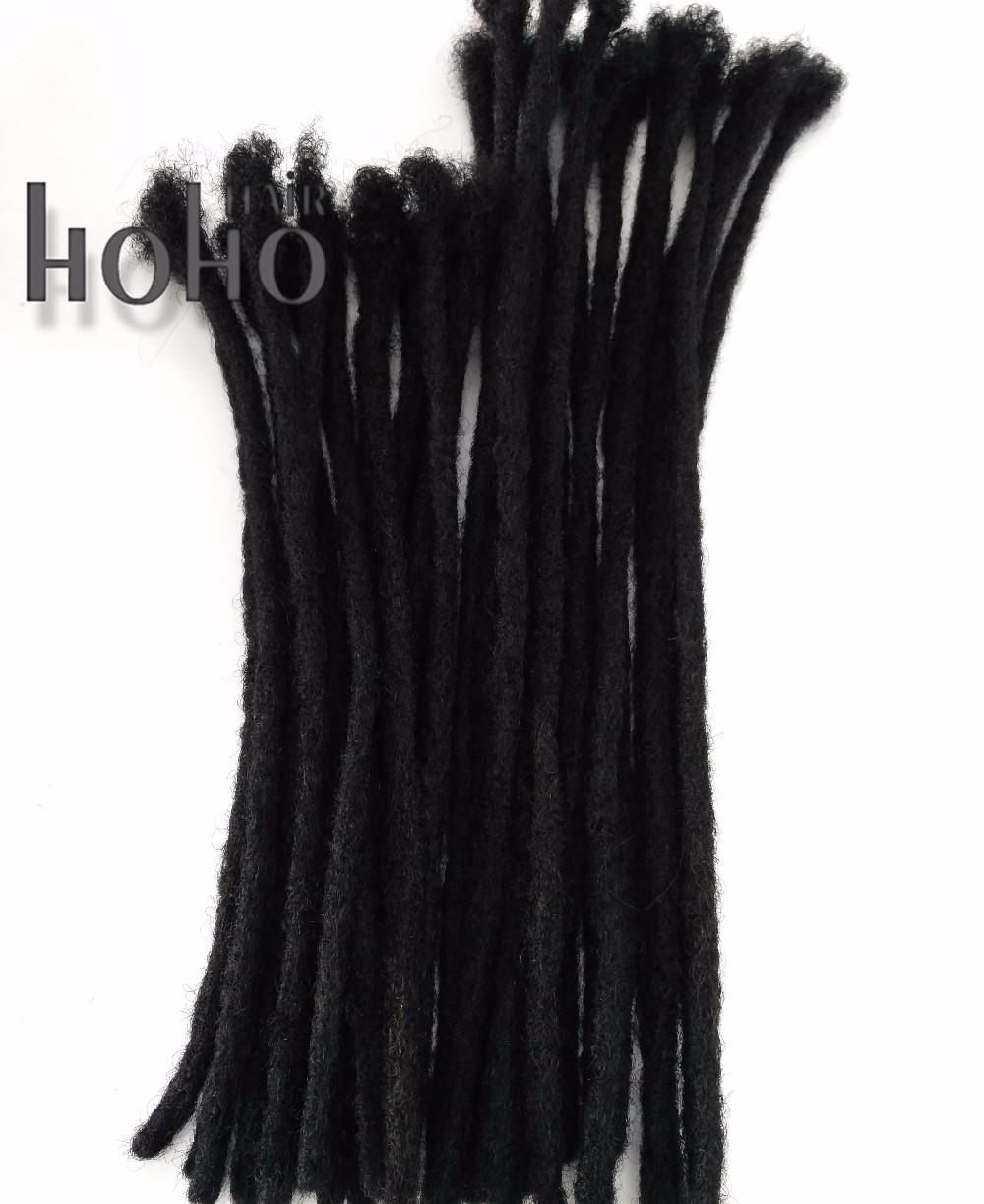 [Rheas HOHO DREADS] 20 Inches human Hair Extensions afro kinky Crochet Dreadlocks фото