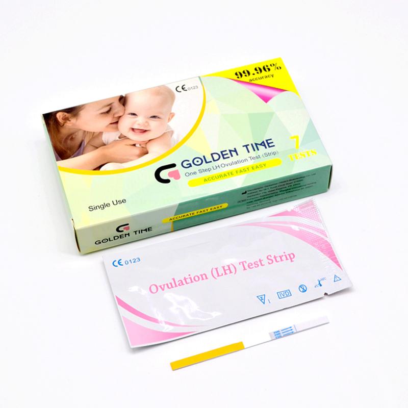 Approvato produttore 99.9% di precisione HCG gravidanza striscia di prova