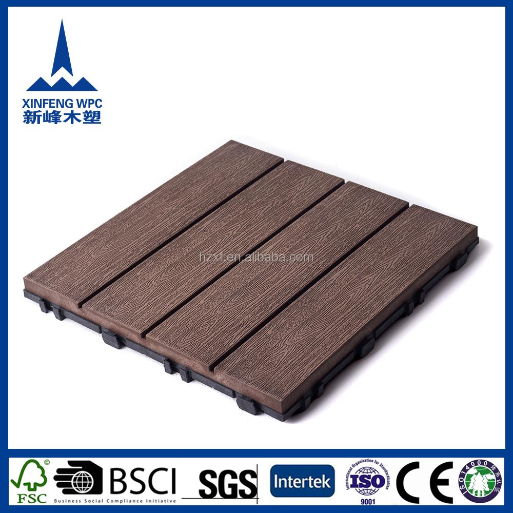 Anti termites tanche en plastique de verrouillage base for Couvre plancher pour patio exterieur