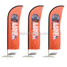 Publicidad outdoor flying banner, aluminum telescopic pole