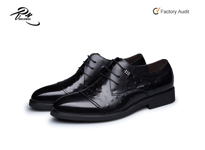 Ostrich 2016 Shoe leather skin cow embossed Fashion Dress shoe Man Sale man Hot Leather xPYqrwY0g