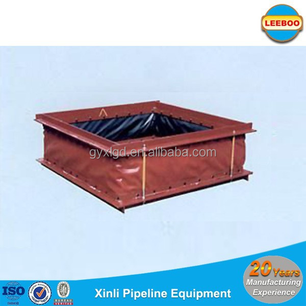 Square shape nonmetal expansion joints for CO boiler to precipitator
