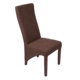 Modern High back leather covered cheap price restaurant dining chair