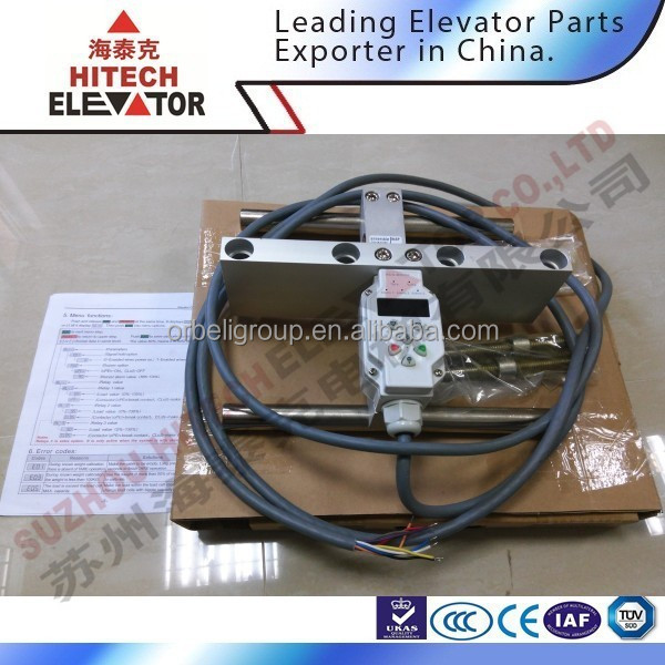 Elevator load controller and load cell