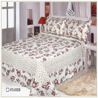 100% cotton printed quilt cover and bed sheet/bedding set/pillow case
