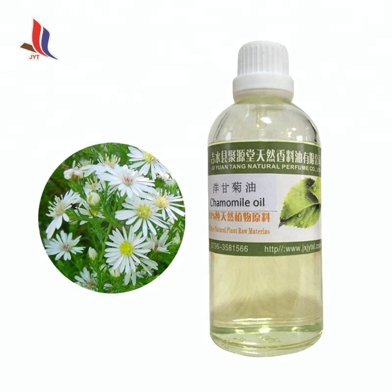 Natural High Purity Low Price Pure Chamomile Essential Oil for Skin Care